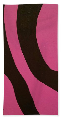 Wild Side Pink - Bath Towel