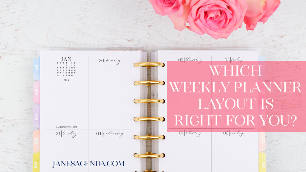 Which weekly layout is right for you