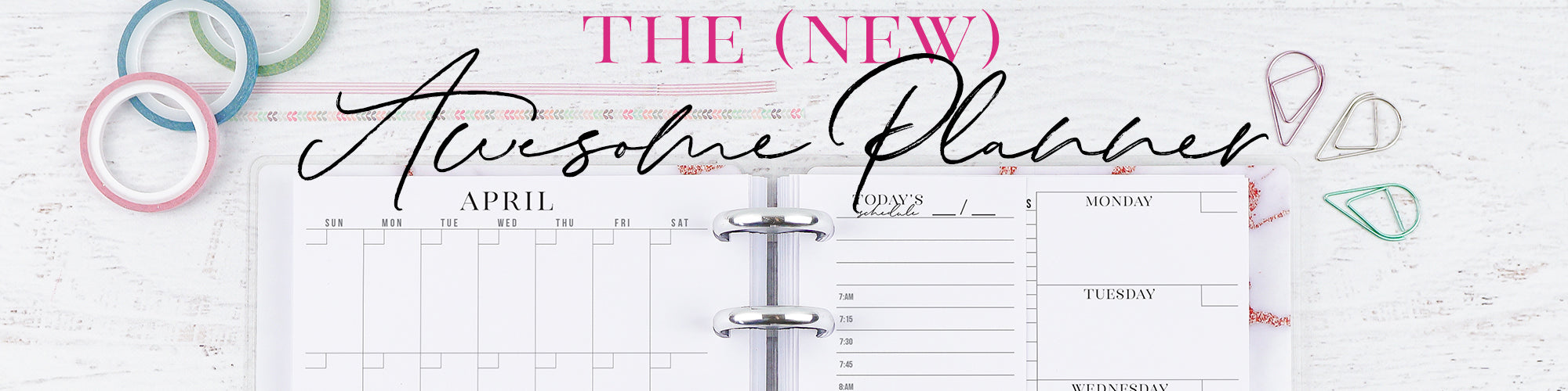 Awesome Planner Monthly Weekly Daily by Jane's Agenda