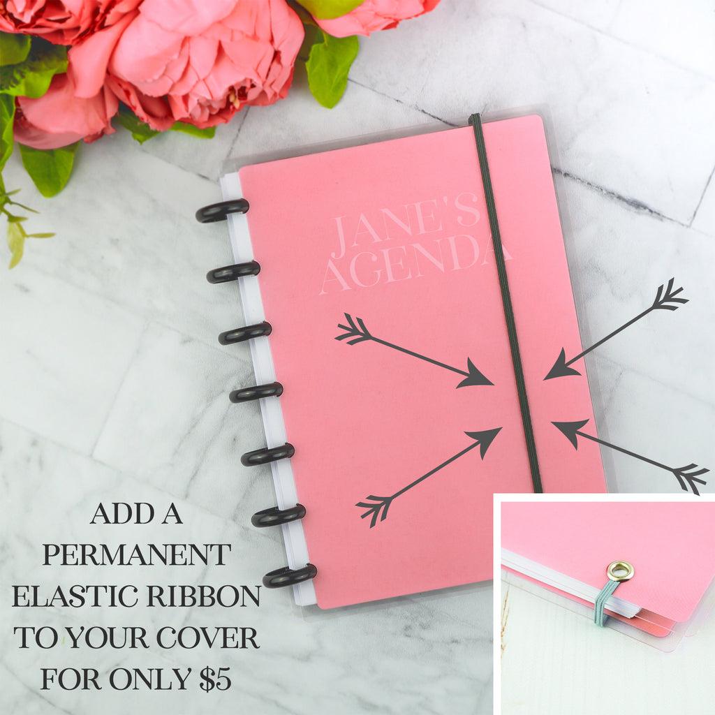 Planner cover with ribbon by Jane's Agenda®
