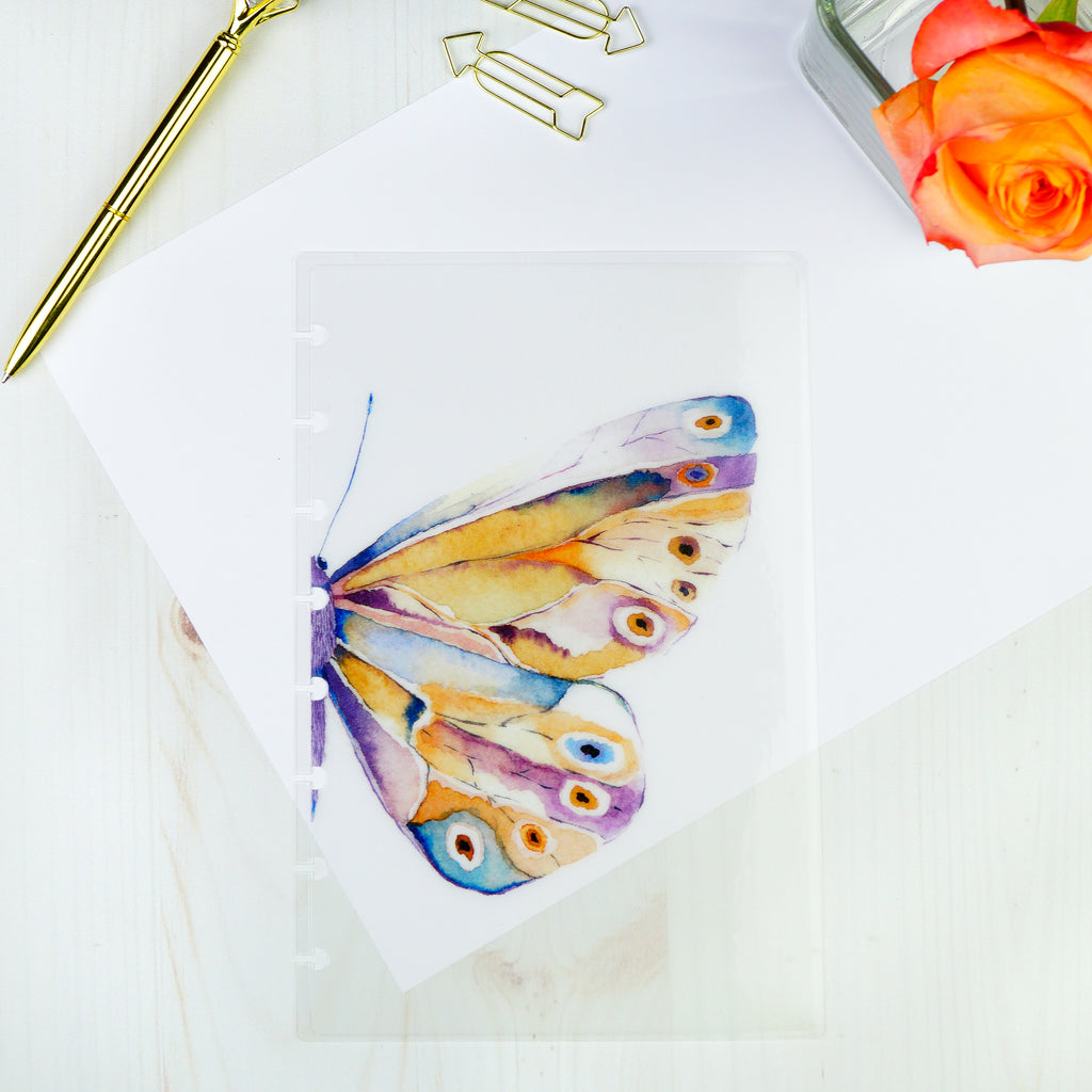 Multi color butterfly planner dashboard by Jane's Agenda