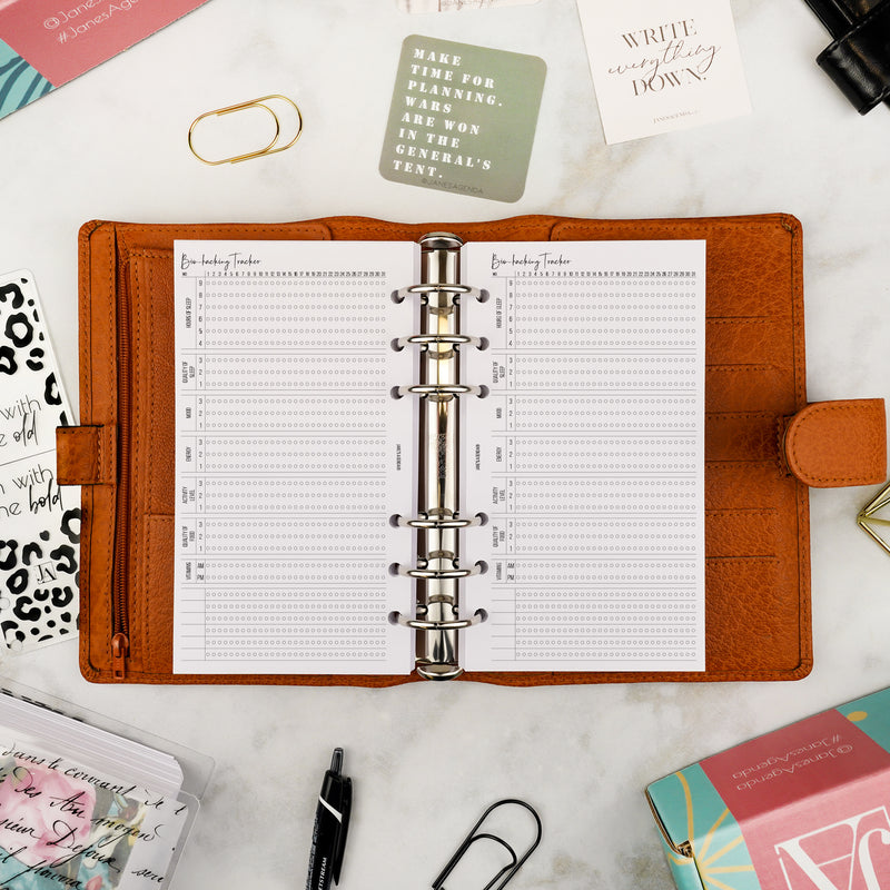 Extra Planner Inserts No. 31 | Biohacking Tracker