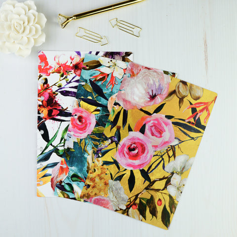 Hummingbird Floral | Card Stock Dashboard