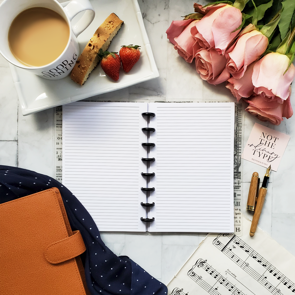 Notes Planner Inserts No. 00 by Jane's Agenda.