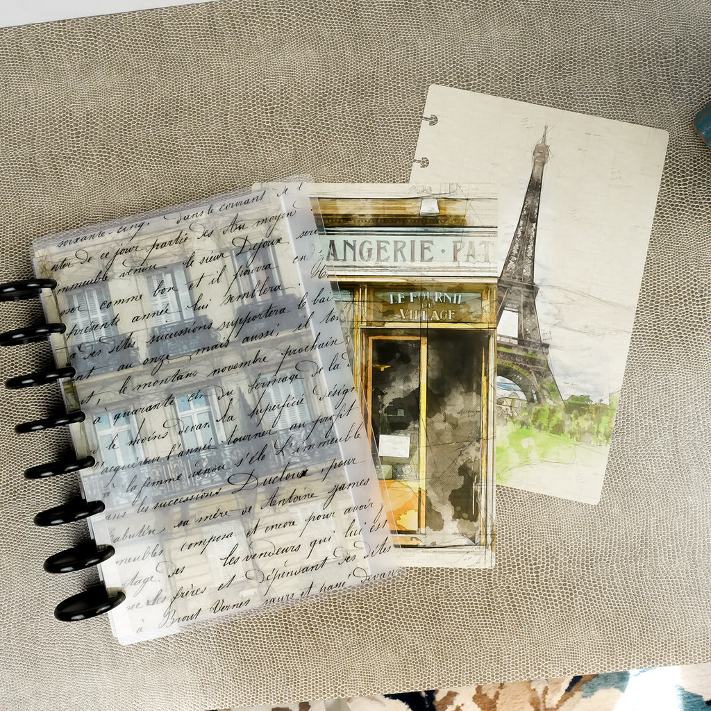 Parisian Card Stock Dashboard by Jane's Agenda®