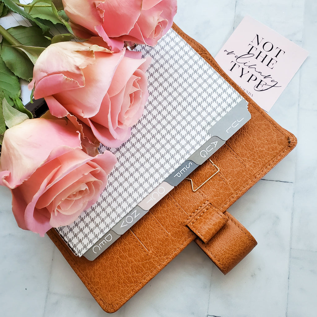Neutral Planner Dividers by Jane's Agenda