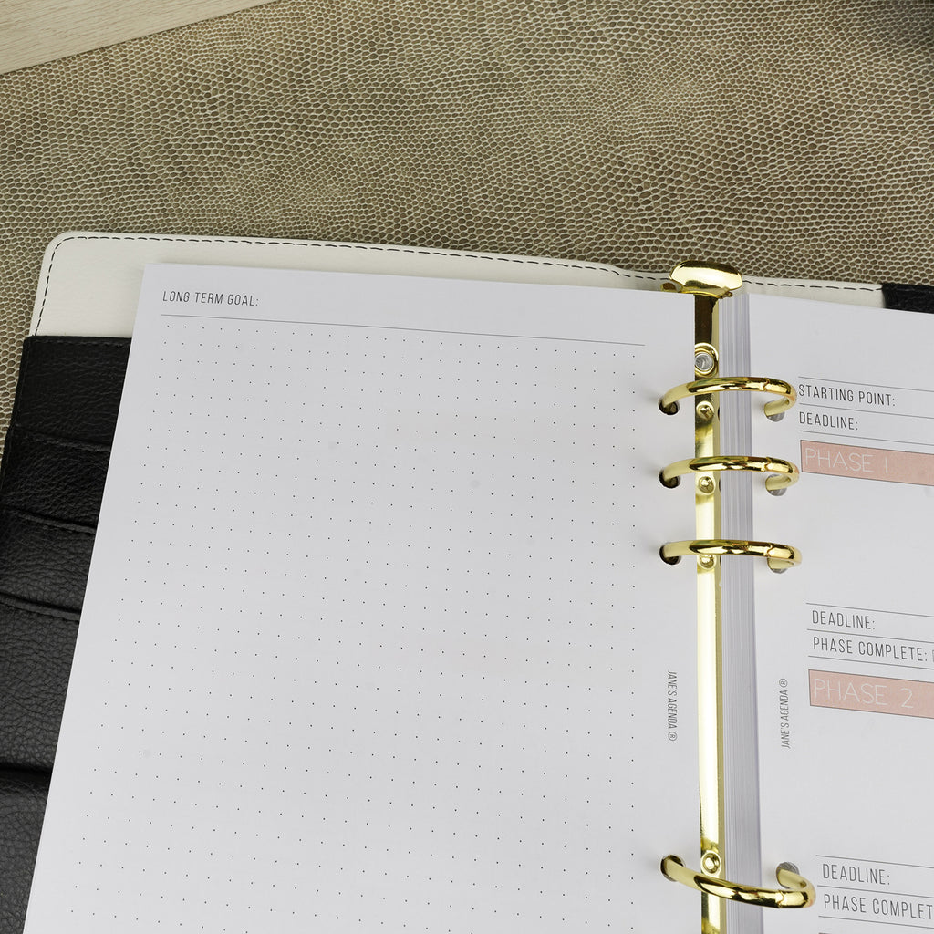 Planner Pages refills E-03 Smart Goals by Jane's Agenda®.
