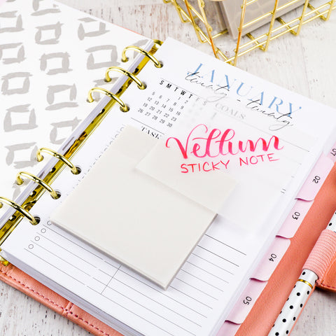 Sticky Notes | Translucent Vellum