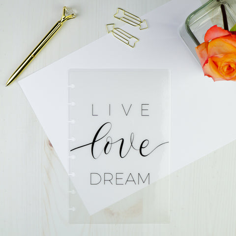 Live Love Dream | Vellum Dashboard