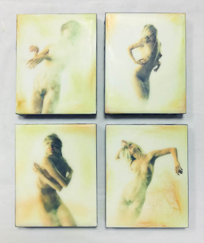 Small Encaustic Panels - series one