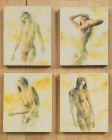 Small Encaustic Panels - series three