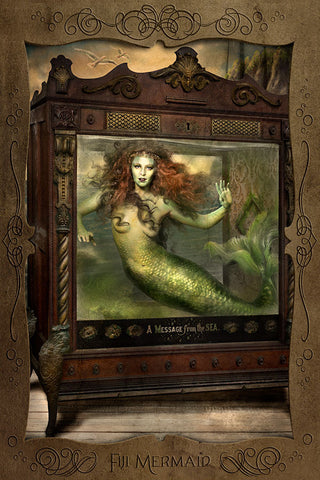 Fiji Mermaid (postcard)