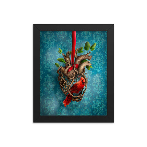 Heart of a Songbird (framed)