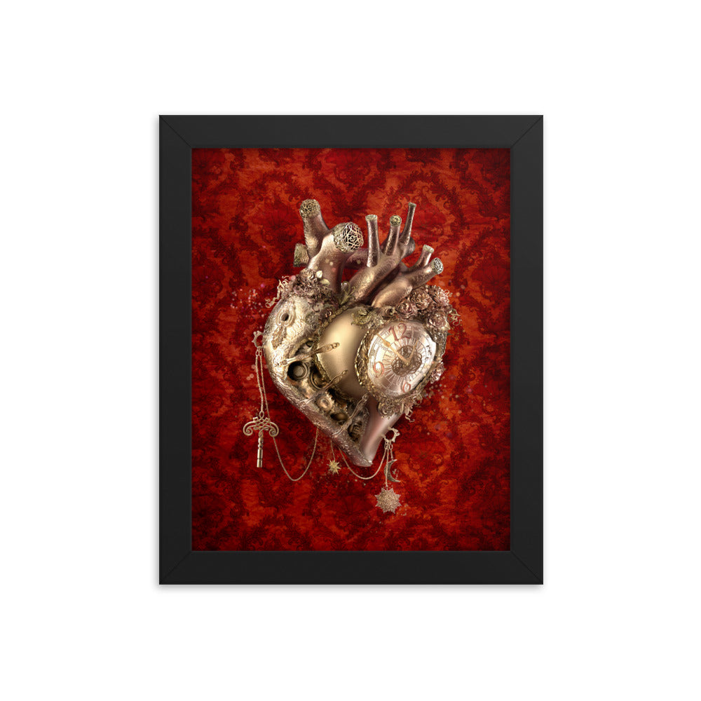 The Clockwork Heart (framed)