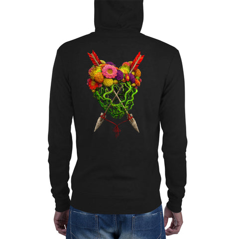 To Suffer Love zip hoodie