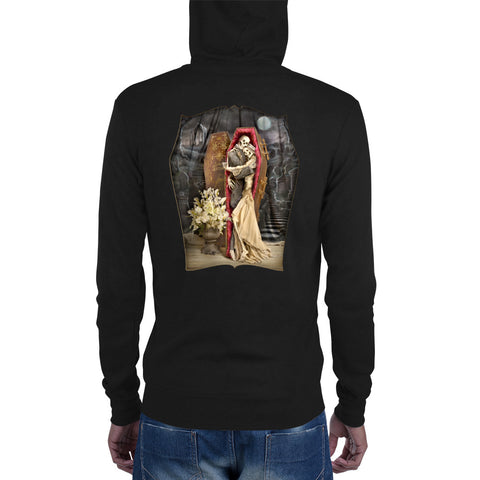 Dearly Beloved zip hoodie