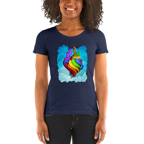 Hearts for All t-shirt (Women's)