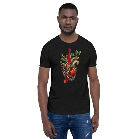 Heart of a Songbird t-shirt (unisex)