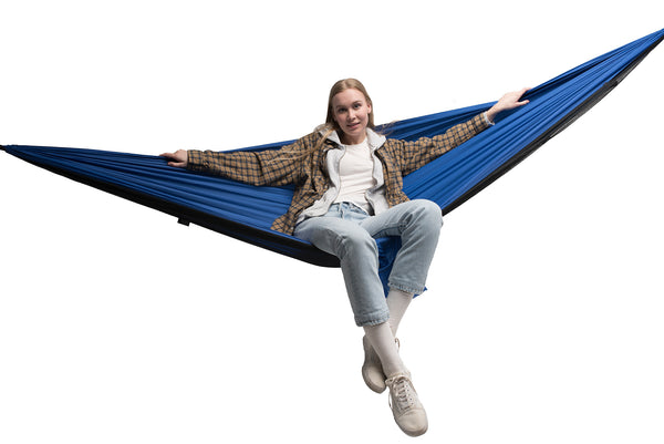 Mosquito Net Hammock Nylon 210T Ripstop with 40D Polyester Net