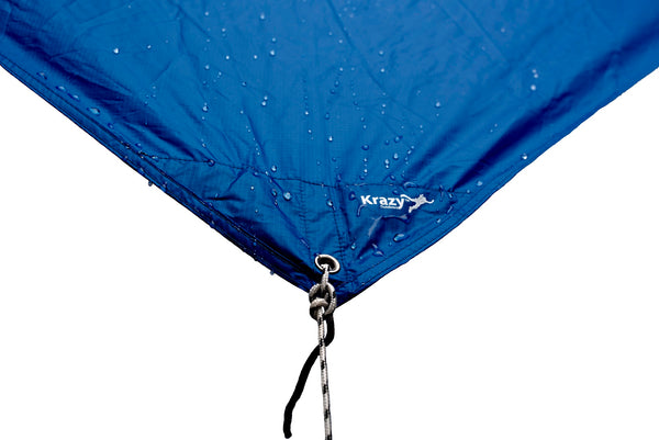 Hammock Rain Fly - 70D Oxford Nylon - RipStop - BLUE
