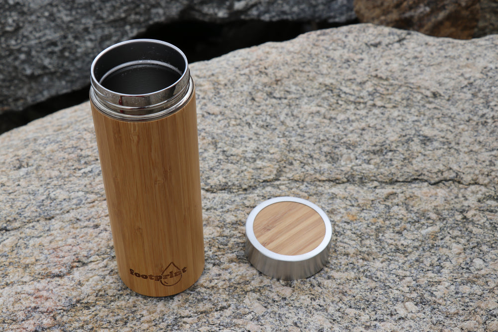 Footprint Bamboo Insulated Water Bottle