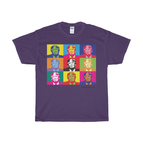 Pop the Trump on a Heavy Cotton T-Shirt