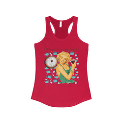 Look, it's wine o'clock! On The Ideal Racerback Tank