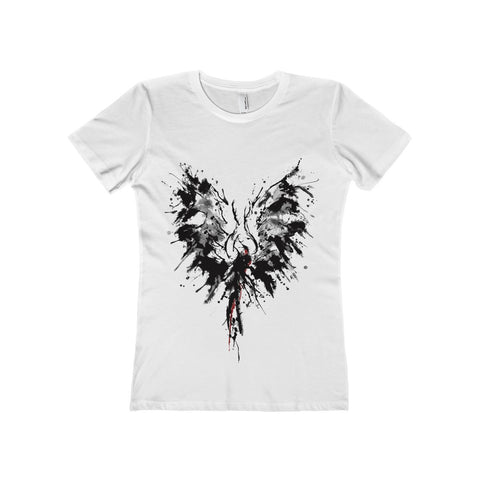 Abstract Phoenix on a Boyfriend Tee