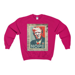 Our Nope Nope Nope Trump Nope Heavy Blend™ Adult Crewneck Sweatshirt