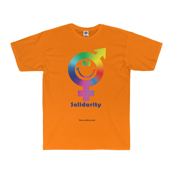 Express your solidarity on an Adult Surf Tee