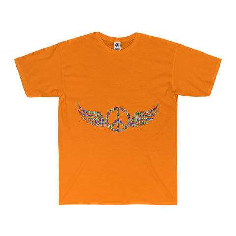 Wings of Peace on a Adult Surf Tee