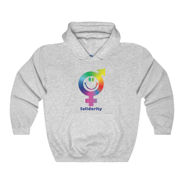 Express your solidarity with our Heavy Blend Hooded Sweatshirt