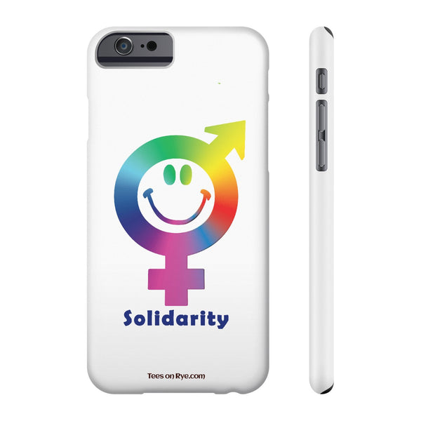 Express your solidarity on US Phone cases