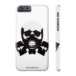 Rock this B&W version of our apocalyptic skull on a US Phone case