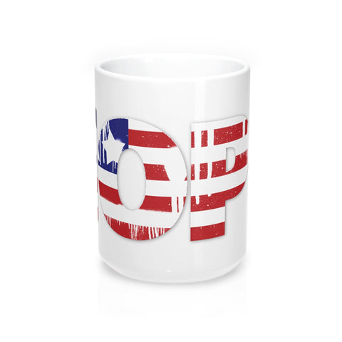 Hope is American.  As is this Mug 15oz