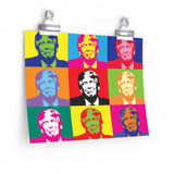 Pop the Trump on a Poster