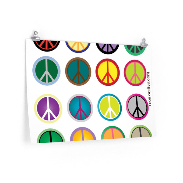 Express Peace on this Poster