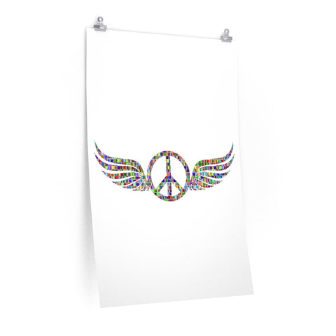 Wings of Peace on a Poster