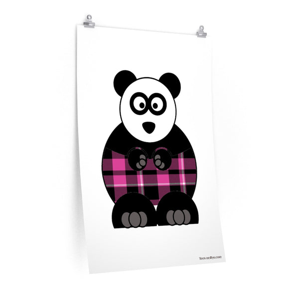 Plaid Panda on Posters