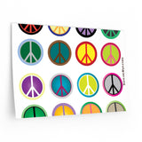 Express Peace on your wall with these Wall Decals