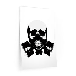 Rock this B&W version of our apocalyptic skull on a Wall Decal