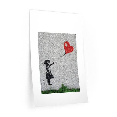 Love flies free.  On a Wall Decal