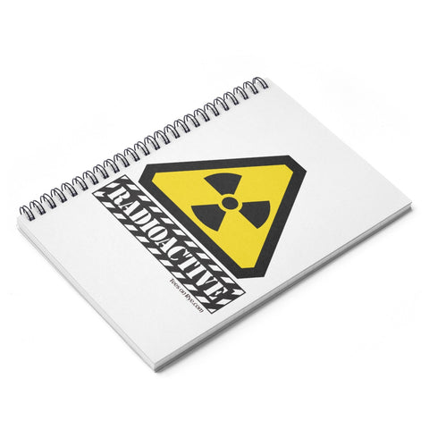 Radioactive Spiral Notebook - Ruled Line