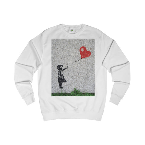 Love flies free.  On a Sweatshirt, too