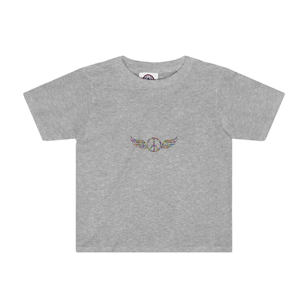 Wings of Peace on a Toddler Tee