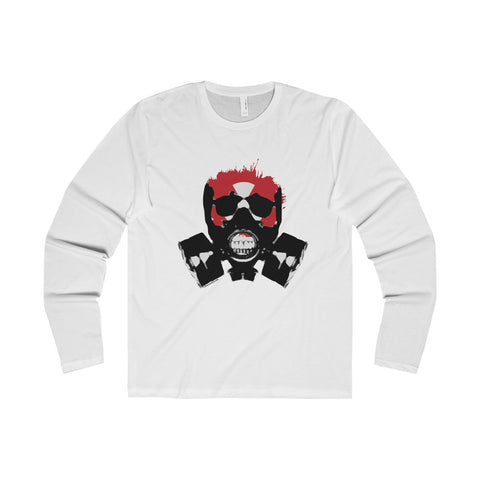 Rock this apocalyptic skull on a Premium Long Sleeve Crew