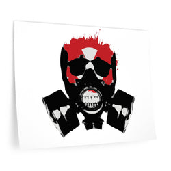Rock this apocalyptic skull on a Wall Decal