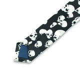 Big White Skull Necktie