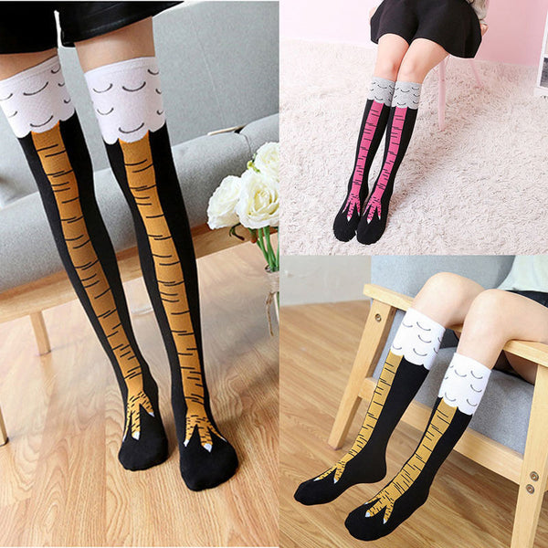 OMG 3D Chicken Legs Stockings!