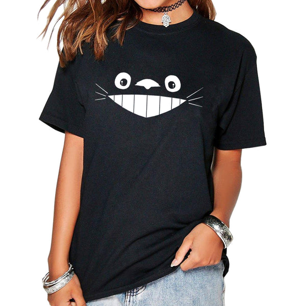 Cheshire Cat Smile on a TShirt